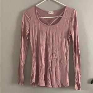 Tops - Pink long sleeve light material